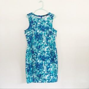 Rachel Roy Size 14 Blue Cocktail Dress